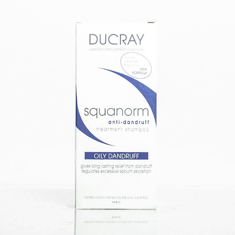 Ducray Squanorm sampon tratament anti-matreata grasa