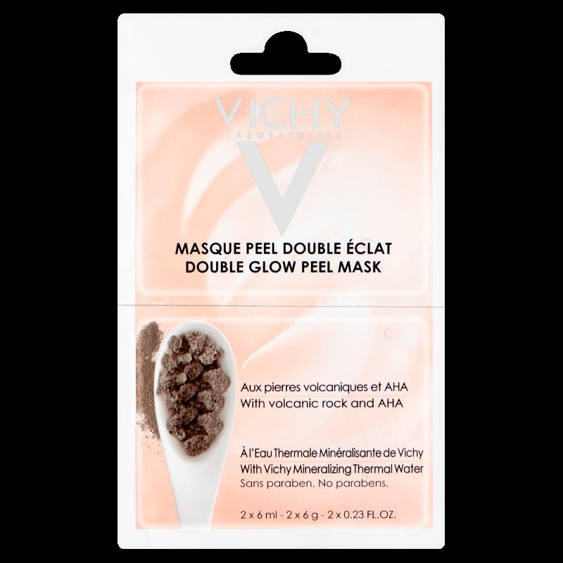 Vichy masca minerala de fata exfolianta si iluminatoare