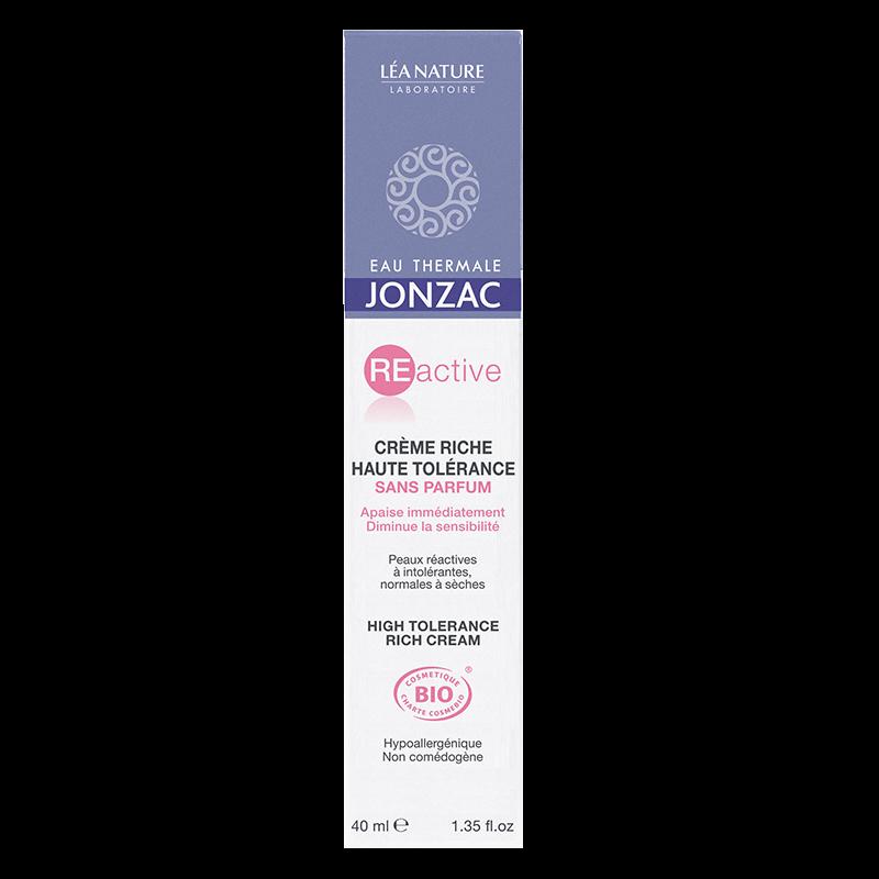 Jonzac REactive Riche crema pentru piele sensibila normal-uscata 40 ml